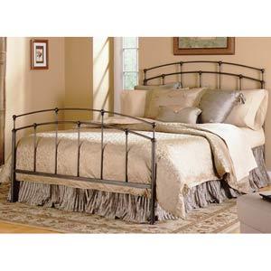 Fenton Black Walnut Queen Bed Frame