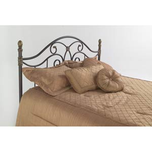 Dynasty Autumn Brown King Headboard Only