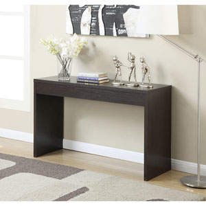 Northfield Espresso Console Table