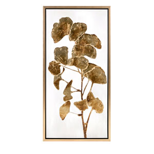 Luxe Ginkgo Oil Painting