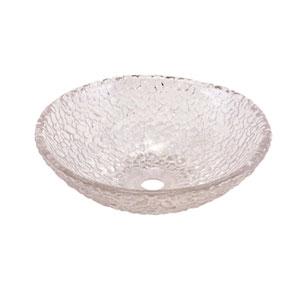Crystal Pebble 16-Inch Vessel