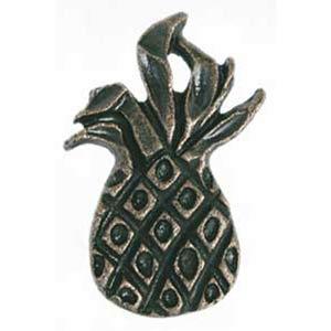 Large Pineapple Drawer Pull - Antique Matte Brass