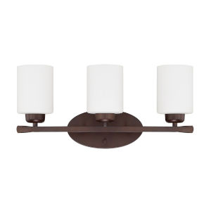 HomePlace Dixon Bronze 21-Inch Three-Light Bath Vanity