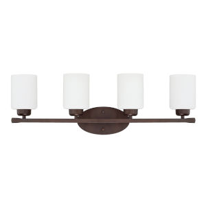 HomePlace Dixon Bronze 29-Inch Four-Light Bath Vanity