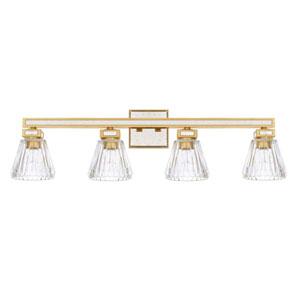Abella Capital Gold Four-Light Vanity