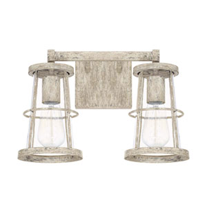 Beaufort Gray Two Light Vanity