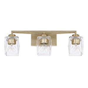 Karina Winter Gold Three-Light Vanity