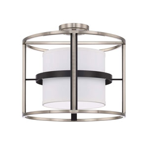 Tux Black Tie Four-Light Semi-Flush Mount