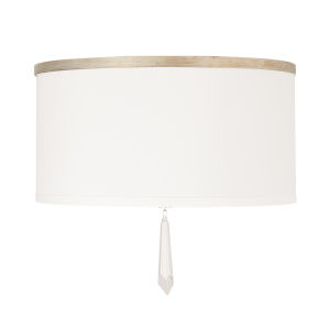 Gwyneth Winter Gold Three-Light Flush Mount