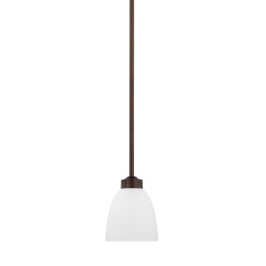 HomePlace Jameson Bronze 52-Inch One-Light Mini Pendant