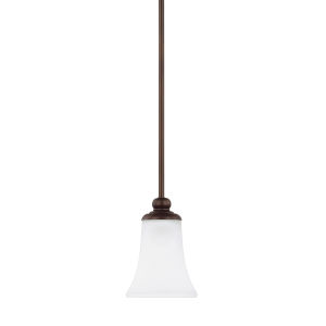 HomePlace Griffin Bronze 52-Inch One-Light Mini Pendant