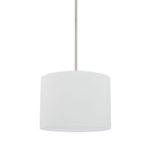 HomePlace Brushed Nickel 13-Inch Two-Light Pendant