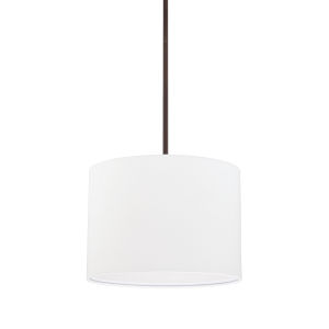 HomePlace Bronze 13-Inch Two-Light Pendant