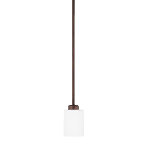 HomePlace Dixon Bronze 53-Inch One-Light Mini Pendant