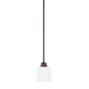 HomePlace Hayden Bronze 53-Inch One-Light Mini Pendant