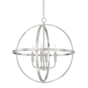 HomePlace Bronze 23-Inch Four-Light Pendant