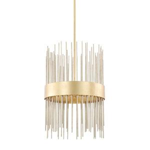 Lena Gold Four-Light Pendant