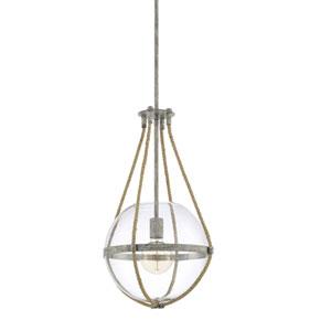 Beaufort Gray 13-Inch One-Light Pendant