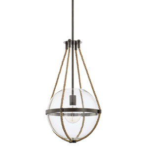 Beaufort Nordic Grey 13-Inch One-Light Pendant