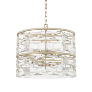 Serena Winter White Six-Light Pendant