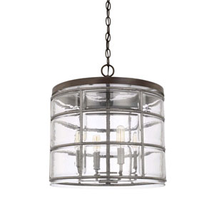 Colby Urban Gray Four-Light Pendant