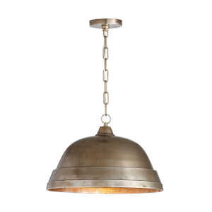 Oxidized Nickel 18-Inch One-Light Pendant