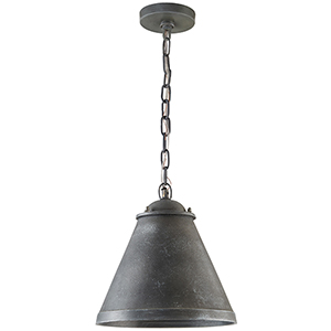 Independent Anitque Grey One-Light Pendant