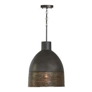Sana Gray Iron One-Light Pendant