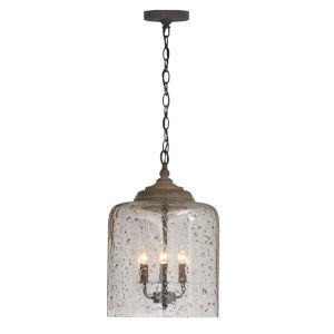Nordic Gray Three-Light Pendant