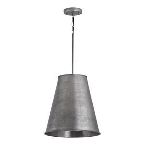 Ari Etched Nickel Three-Light Pendant