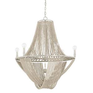 Kayla Gray Six-Light Chandelier