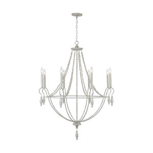 Mystic Sand Eight-Light Chandelier