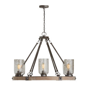 Nolan Urban Wash Six-Light Chandelier