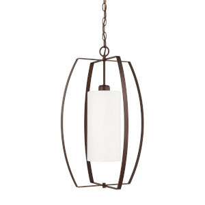 HomePlace Bronze 16-Inch One-Light Pendant