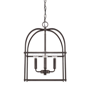 HomePlace Bronze 13-Inch Four-Light Pendant