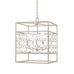 Serena Winter White Four-Light Pendant