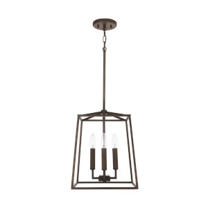 Thea Oil Rubbed Bronze Four-Light Foyer Pendant