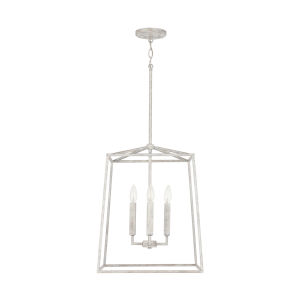 Thea Mystic Sand 71-Inch Four-Light Foyer Pendant
