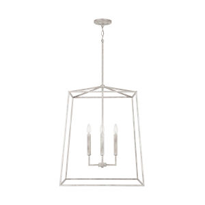 Thea Mystic Sand 78-Inch Four-Light Foyer Pendant