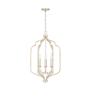 Ophelia Winter Gold Six-Light Foyer Pendant