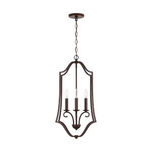 HomePlace Cameron Bronze Four-Light Foyer Pendant