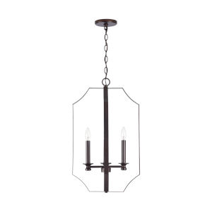 HomePlace Myles Bronze Four-Light Foyer Pendant