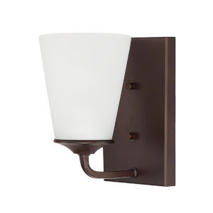 HomePlace Braylon Bronze Eight-Inch One-Light Wall Sconce
