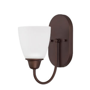 HomePlace Trenton Bronze 10-Inch One-Light Wall Sconce