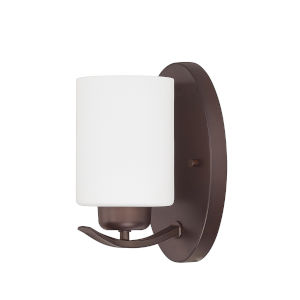 HomePlace Dixon Bronze Eight-Inch One-Light Wall Sconce