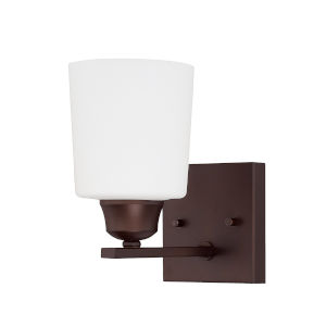 HomePlace Hayden Bronze Eight-Inch One-Light Wall Sconce