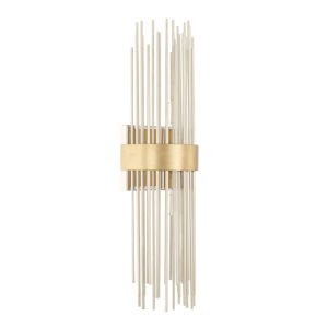 Lena Fire and Ice Two-Light Wall Sconce