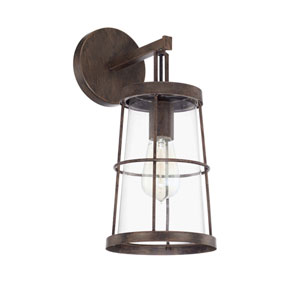 Beaufort Nordic Grey Six-Inch One-Light Sconce