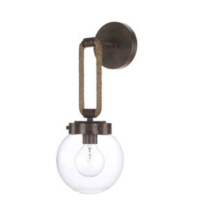 Beaufort Nordic Grey Seven-Inch One-Light Sconce