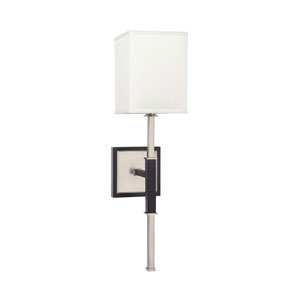 Black One-Light Sconce